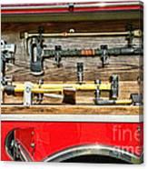 Fireman - Life Saving Tools Canvas Print