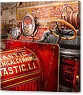 Fireman - Mastic Chemical Co Canvas Print