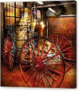 Fireman - One Day A Long Time Ago  Canvas Print