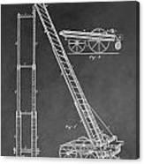 Fireman's Hydraulic Lift Canvas Print