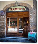 Firenze Trattoria Canvas Print