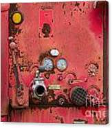Firetruck Red Canvas Print