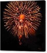 Fireworks 2014  13 Canvas Print