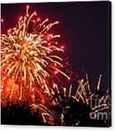 Fireworks 2014  4 Canvas Print