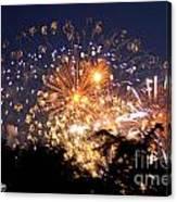 Fireworks 2014  7 Canvas Print