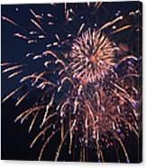 Fireworks 2014 Ix Canvas Print
