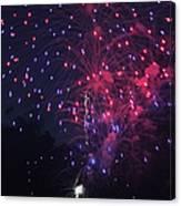Fireworks 2014 Vi Canvas Print