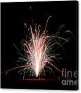 Fireworks 24 Canvas Print