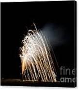 Fireworks 8 Canvas Print