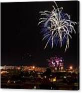 Fireworks Albenga 2013 3765 - Ph Enrico Pelos Canvas Print