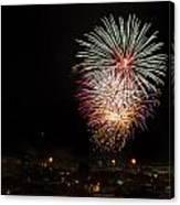 Fireworks Albenga 2013 3808 - Ph Enrico Pelos Canvas Print