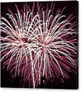 Fireworks Bursts Colors And Shapes 7 Canvas Print