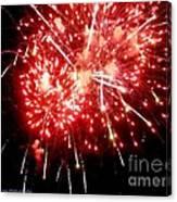 Fireworks Display At Niagara Falls Canvas Print