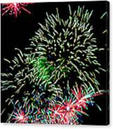 Fireworks Over The Bay Canvas Print