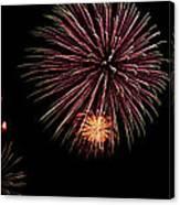 Fireworks Panorama Canvas Print