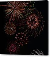 Fireworks - Phone Case Design Canvas Print