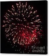Fireworks Series Ix Canvas Print
