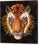 Firey Beauty Canvas Print