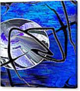 Firmament Cracked #6 - Veneers Canvas Print