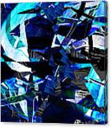 Firmament Cracked #9 - All Which Once Was Beautiful Canvas Print