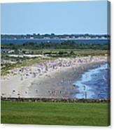 First Beach Newport Ri Canvas Print