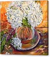 First Bouquet Canvas Print