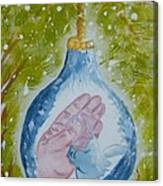 First Christmas II Canvas Print