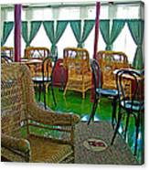 First Class Lounge In S S Klondike On Yukon River In Whitehorse-yt Canvas Print