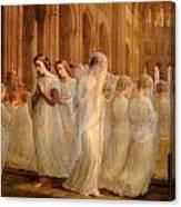 First Communion Canvas Print