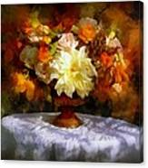 First Day Of Autumn - Still Life Canvas Print