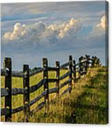 First Fence Canvas Print