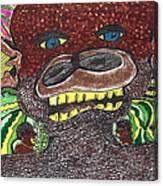 First Jungle Canvas Print