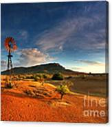 First Light On Wilpena Pound Canvas Print