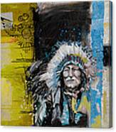 First Nations 33 Canvas Print
