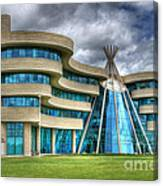 First Nations University Of Canada Canvas Print