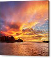 First Of November Canvas Print