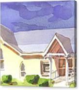 First Presbyterian Church II Ironton Missouri Canvas Print