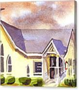 First Presbyterian Church Ironton Missouri Canvas Print