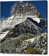 First Snow At Mount Wilbur  Canvas Print