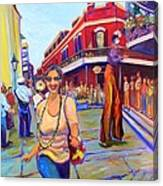First Trip To New Orleans Canvas Print