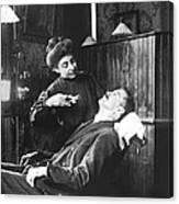 First Women Dentists Canvas Print