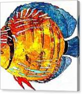 Fish 502-11-13 Marucii Canvas Print