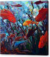 Fish Chatter Canvas Print
