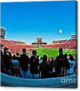 Fish-eye View Of The Jones Stadium Canvas Print