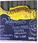 Fish Friday Canvas Print
