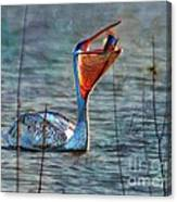 Fish In Canvas Print