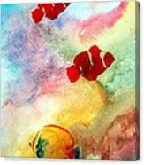 Fish In The Sea Canvas Print