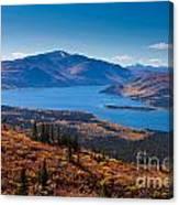 Fish Lake - Yukon Territory - Canada Canvas Print