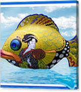 Fish Of The Orient Canvas Print