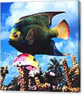 Fish Sculpture Canvas Print
